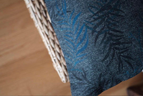 MAZURCA x It's OK To Go Slow | Handwoven and Handprinted pillow