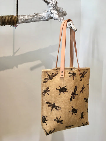 BUGS & LEAVES | Juta bag