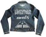 ADVENTURE AWAITS DENIM JACKET