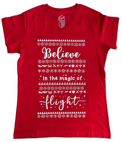 BELIEVE IN THE MAGIC OF FLIGHT TEE