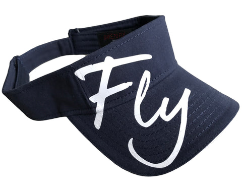 FLY SUN VISOR (NAVY) – DARE TO FLY™