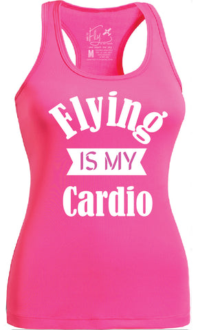 FLYING IS MY CARDIO