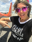 GIRL ON A FLIGHT PLAN T-shirt