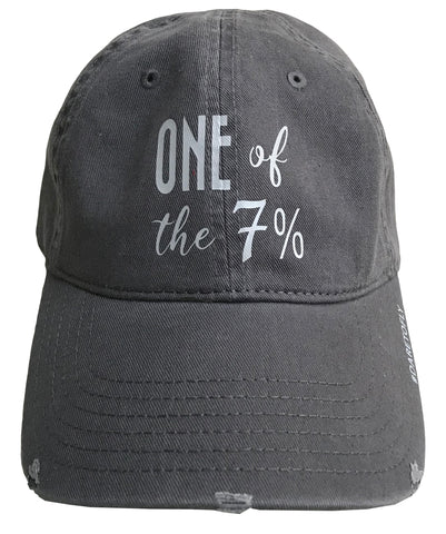 ONE OF THE 7%, FEMALE PILOT HAT