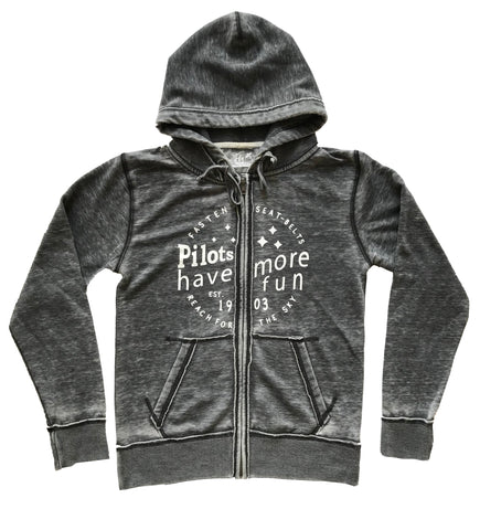 PILOTS HAVE MORE FUN HOODIE