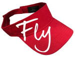 FLY SUN VISOR (RED) - Dare TO FLY™