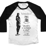 I'M A 99s 90th ANNIVERSARY 3/4 sleeve T-shirt