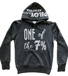 ONE OF THE 7% AVIATION HOODIE