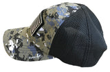 US FLAG CAMO HAT