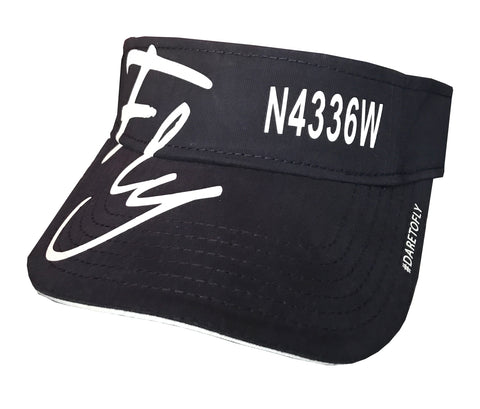 CUSTOM TAIL NUMBER SUN VISOR