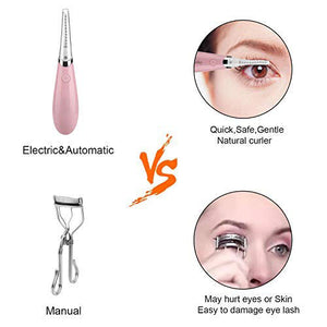 2019 new anti-Mini Electric Heated Eyelash Curler(BUY 2 FREE SHIPPING)