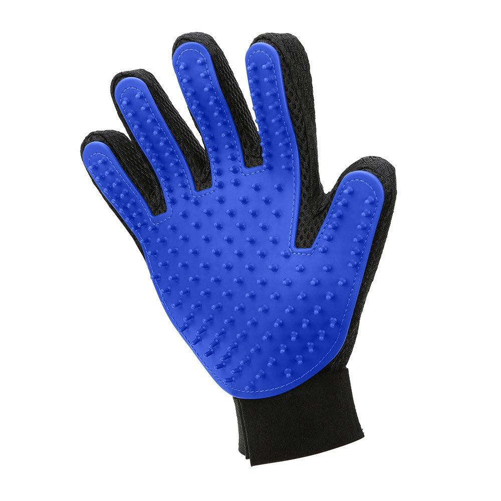 Pet cleaning massage gloves
