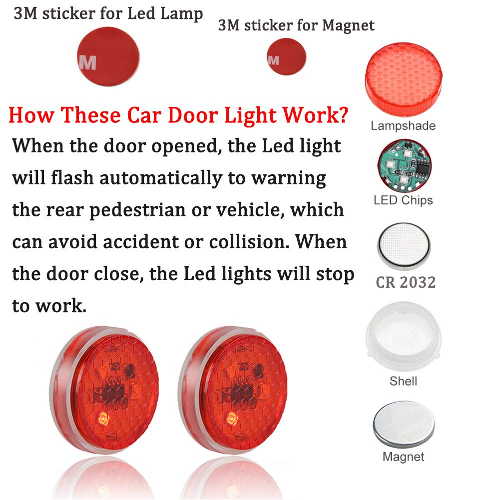 (Hot selling 2000 items)Anti-Collision Gate Warning Light