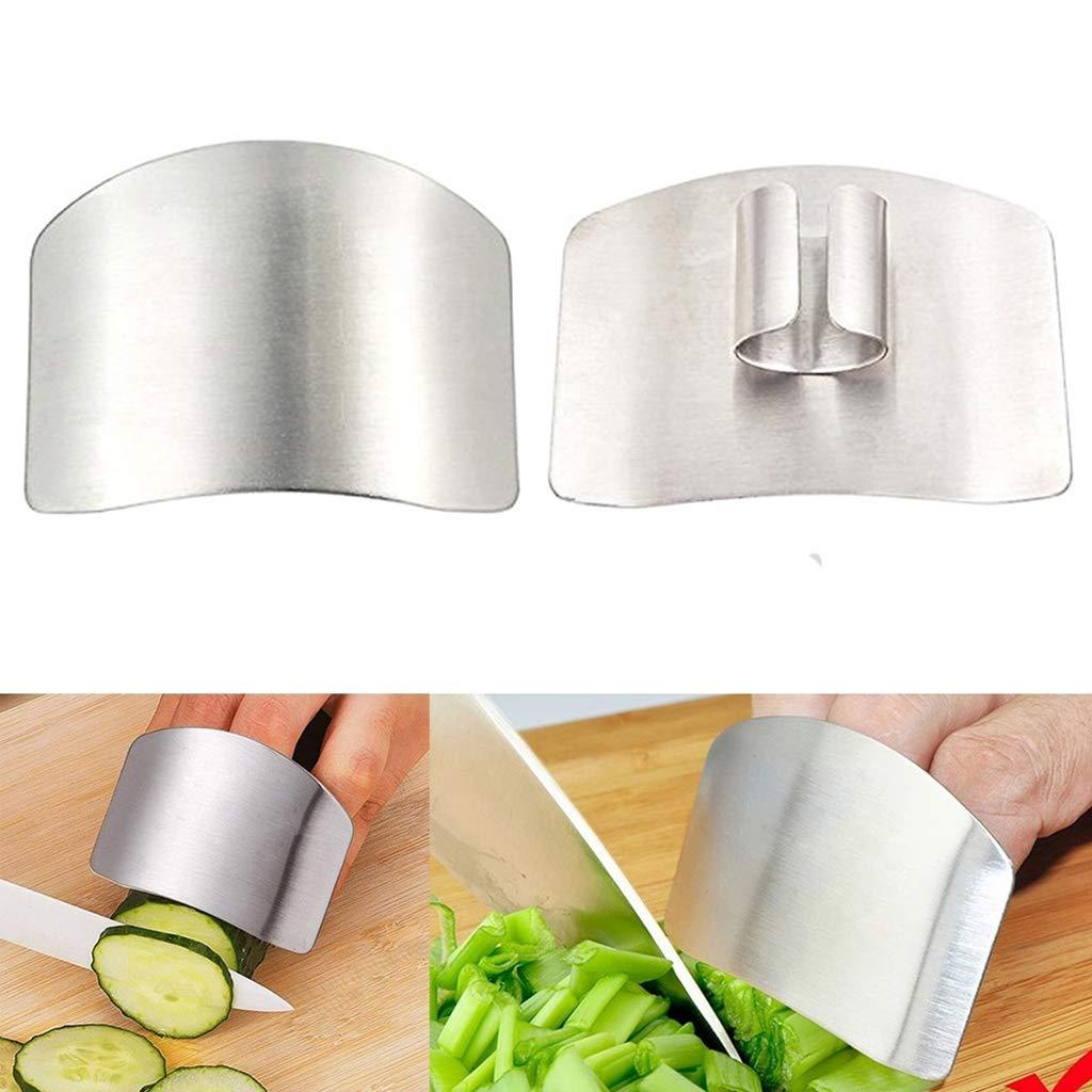 Unbreakable Stainless Steel Safety Slicer Protects Slice Cut Protector | Finger Protector Guard