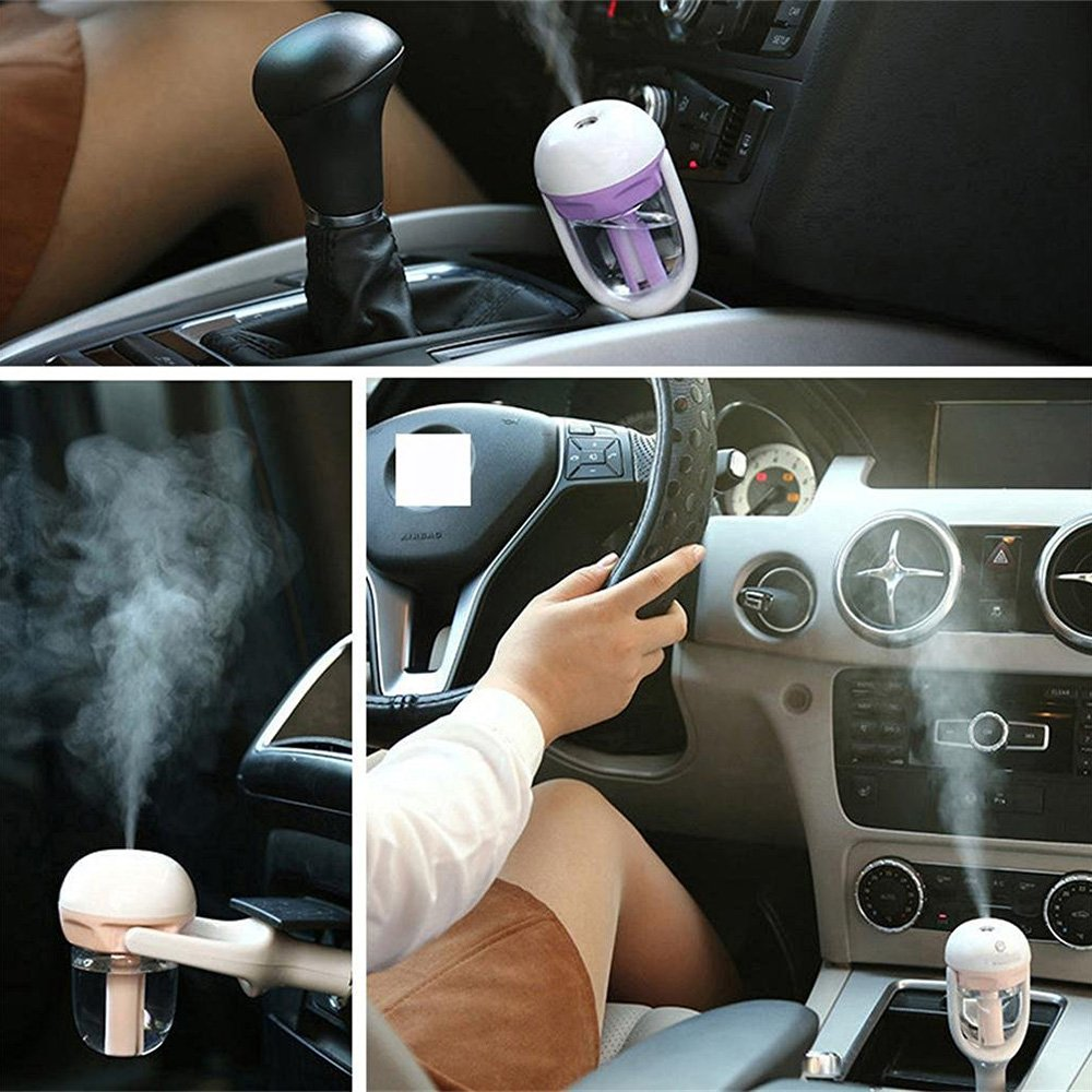 (Buy Two Free Shipping)2in1 Car Aromatherapy Essential Oil Diffuser