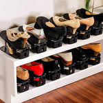(Hot selling 5000 items)One-piece plastic shoe storage rack