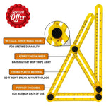 (Hot selling 5000 items)Multi-angle measuring ruler