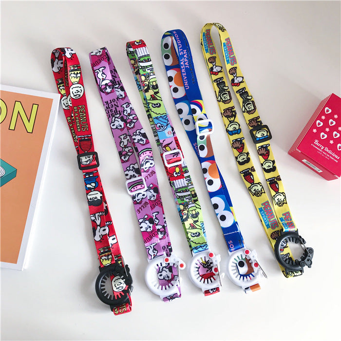 (Hot selling 5000 items)Fashion strap buckle lanyard
