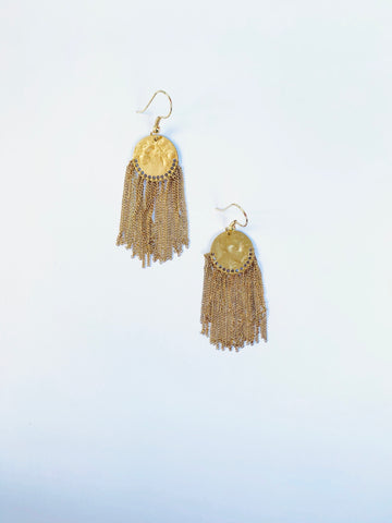 Recycled Brass Gold Tassel - The Bamboo Rack