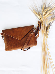 Natural Tan Kimi Clutch - The Bamboo Rack