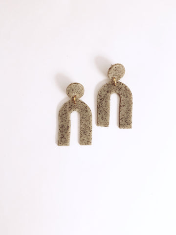 Granite Arc Earring - The Bamboo Rack