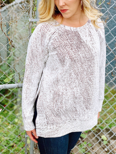 Frosted Zip Pullover - The Bamboo Rack