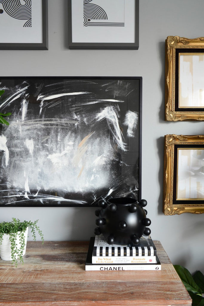 abstract art prints for a living room