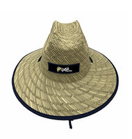 Straw Fishing Hat - Floral Print