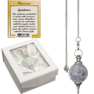 Pendulum with Angelite and Selenite