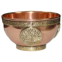Load image into Gallery viewer, Copper Incense Bowls