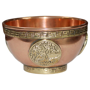 Copper Incense Bowls
