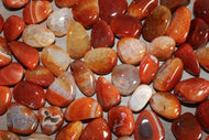 Tumbled Fire Agate