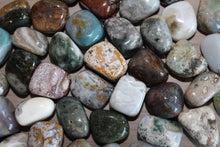 Load image into Gallery viewer, Tumbled Ocean Jasper