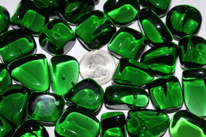 Tumbled Green Obsidian