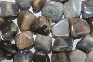 Tumbled Black Moonstone