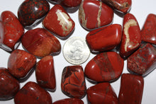 Load image into Gallery viewer, Tumbled Red Jasper