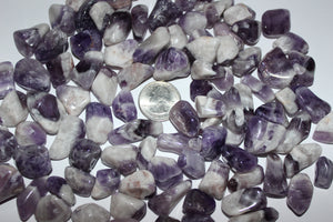 Tumbled Chevron Amethyst