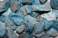 Rough Blue Apatite