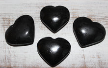 Load image into Gallery viewer, Black Tourmaline Hearts