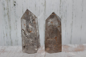 Rutilated Quartz Polished Points