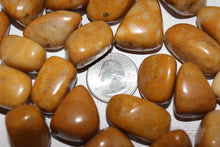 Load image into Gallery viewer, Tumbled Yellow Jasper