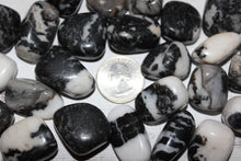 Load image into Gallery viewer, Tumbled Zebra Jasper