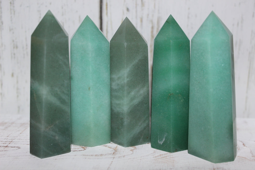 Green Aventurine Point