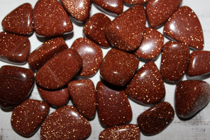 Tumbled Red Goldstone