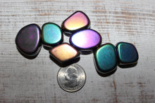 Load image into Gallery viewer, Tumbled Magnetic Rainbow Hematite
