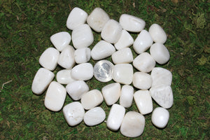 Tumbled White Calcite