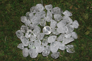 Tumbled Cracked Quartz