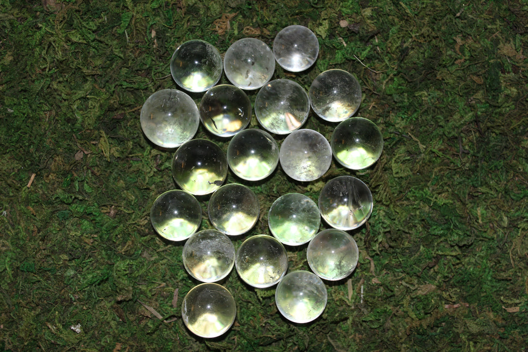 Clear Quartz 21-30mm Spheres