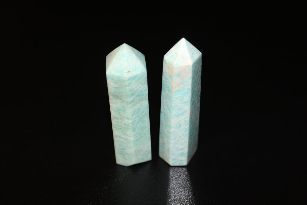 Amazonite Polished Points 3-4