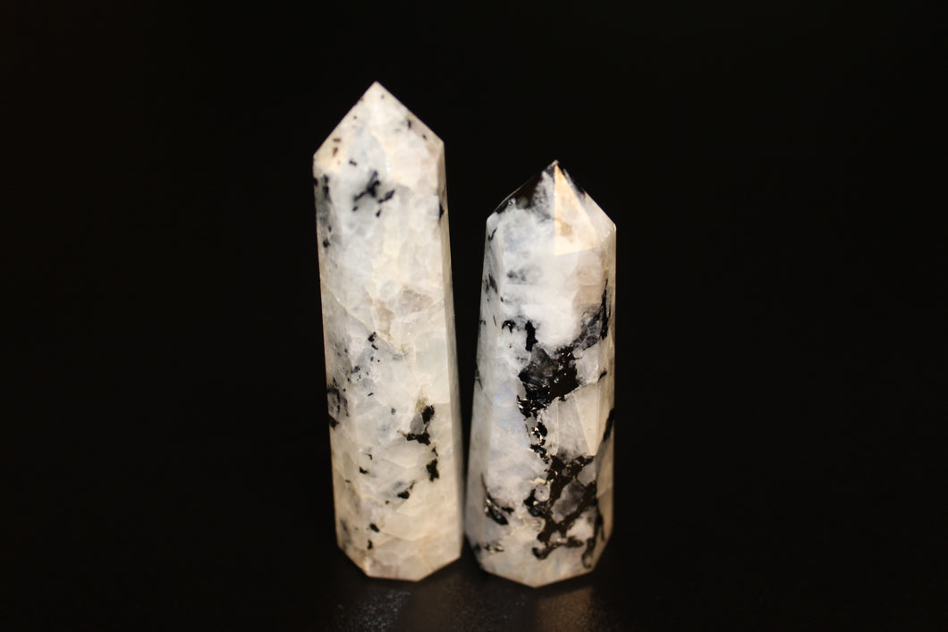 Rainbow Moonstone Points 3-4